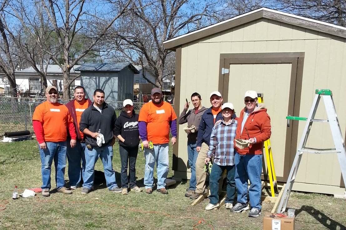 Home Depot Foundation renovation project